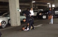 SMH: 2 Guys Fight In A Parking Lot And Cops Make The Black Man Get On The Ground With The Quickness!