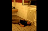 Too Far Gone: Drunk Guy Knocks Himself Out!