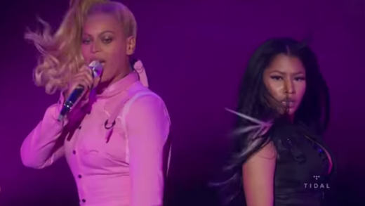Beyonce-&-Nicki-Minaj-Perform-Feeling-Myself-At-Tidal-X-1020-Concert