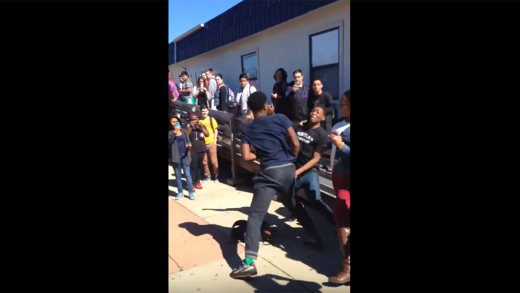 Dude-Gets-KO-During-Fight-At-Apex-High-School