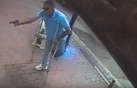 One Legged Man On Crutches Tries To Shoot Up A Store!