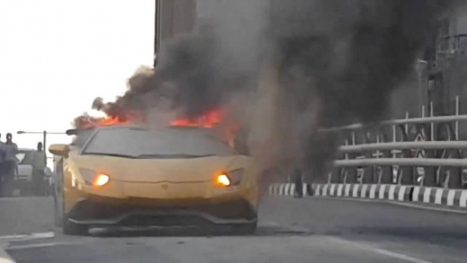 show-off-fail-man-ruins-his-400k-lamborghini-by-over-revving-his-engine-it-catches-on-fire