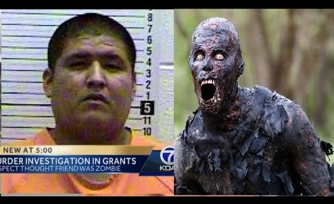 "SMH: Man Binge Watching ""The Walking Dead"" Allegedly Killed Friend He Thought Was Turning Into A Zombie!"