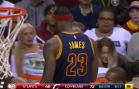 LeBron James Storms Off The Court During The Game, Receives Technical Foul