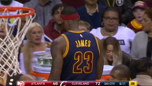 LeBron-James-Storms-Off-The-Court-During-The-Game,-Receives-Technical-Foul