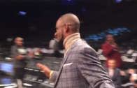 R. Kelly Was Draining Threes While Chewing On A Cigar At Last Night's Nets Game