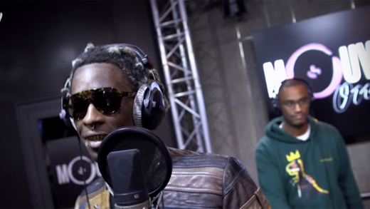 Young-Thug-Spits-Live-Freestyle-On-French-Morning-Show