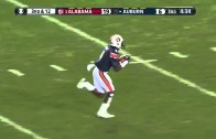 Auburn Receiver Makes Crazy 77 Yard Touchdown In The Iron Bowl!