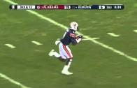 Auburn Receiver Makes Crazy 77 Yard Touchdown In The Iron Bowl!
