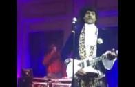 LeBron James' Dresses Up Like Prince For Halloween!