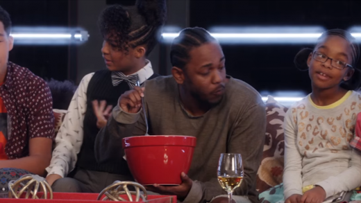 "Kendrick Lamar Stars In Promo Ad For ""Black-ish"""