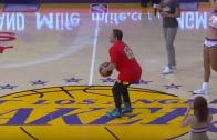Lakers Fan Wins $95K After Hitting A Half Court Shot!