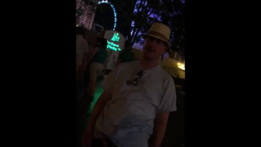 Racist-Guy-Gets-Knocked-Out-In-Vegas!