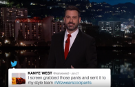 The Kanye West VS Wiz Khalifa Beef As Explained By Jimmy Kimmel