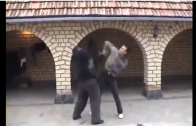 They're Serious: These 2 Guys Invent Their Own Fighting Style!