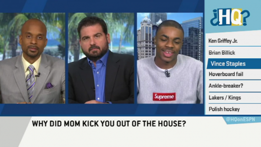 Vince Staples Explains Gang Misconceptions On Highly Questionable
