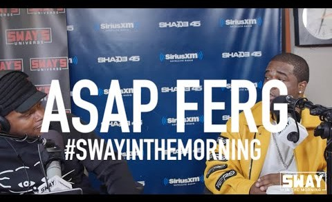 A$AP Ferg Spits Freestyle, Talks Upcoming Album & More On Sway's Morning Show