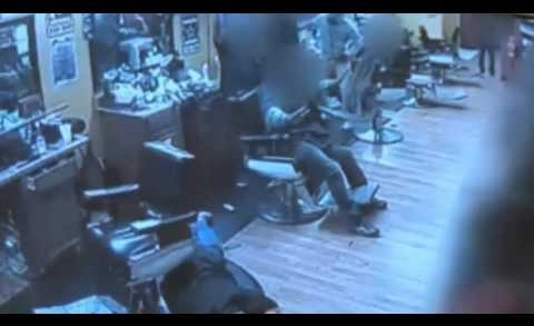 Crazy: Armed Men Invade Barber Shop With Guns But Weren't Ready For What Happened Next! (*Warning Graphic*)
