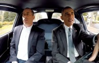 Jerry Seinfeld Takes President Obama For A Joyride In His Corvette!