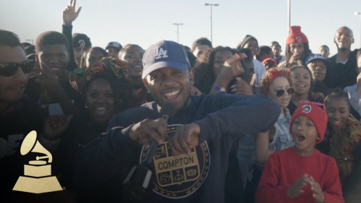 "Kendrick Lamar Raps With Compton Citizens In ""Witness Greatness"" Video"