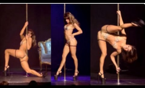 This Australian Lady Has Some Serious Pole Skills!