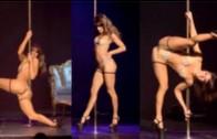 This Australian Lady Has Some Serious Pole Skills!