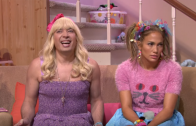 "Jennifer Lopez Twerks To Rihanna ""Work"" In Jimmy Fallon Skit"