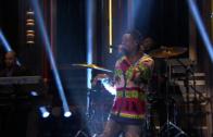 """Wiz Khalifa Performs """"Bake Sale"""" On Jimmy Fallon"""