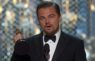 Congrats: Leonardo DiCaprio Finally Wins An Oscar For Best Actor!