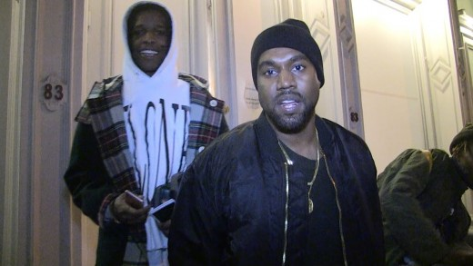Kanye West & ASAP Rocky Stopped By TMZ Out In NYC