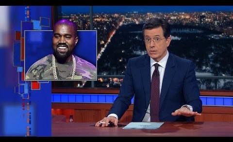 Stephen Colbert Pokes Fun At Kanye West's Donda Chart