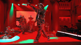 "A$AP Mob Performs ""Yamborghini High"" On Fallon"