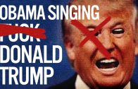 "President Obama Raps YG's ""Fuck Donald Trump"" (Spoof)"