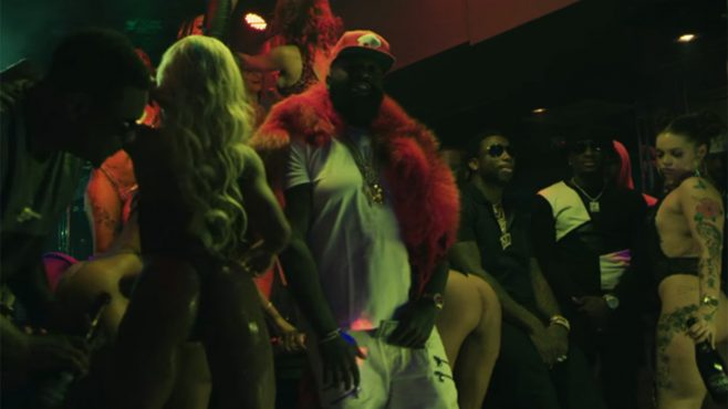 Rick Ross Ft. Gucci Mane – She On My Dick