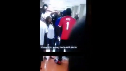 Young Buck Chokes Starlito At A Basketball Game For Dissing Him In A Song!