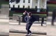 """OT Genasis Crip Walks To YG's """"F**k Donald Trump"""" In Front Of The White House!"""