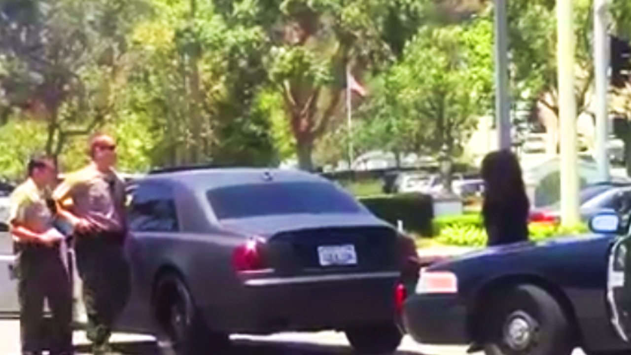 meanwhile in california: cops confiscated blac chyna's rolls-royce